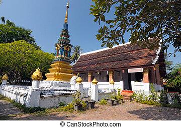 Loas temple in Luang Prabang, Laos