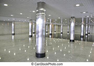 lobby hall empty