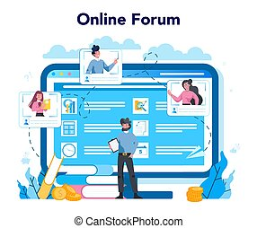 Lobbyist and lobby online service or platform. Professional ...