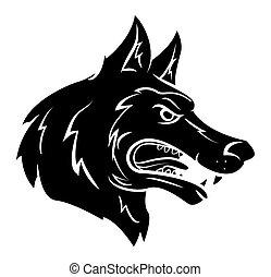 lobo, mascote