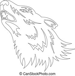 lobo, tatuagem