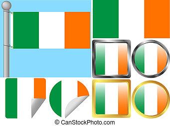 lobogó, állhatatos, írország