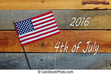 lobogó, ünnep, july 4, szalmaágy