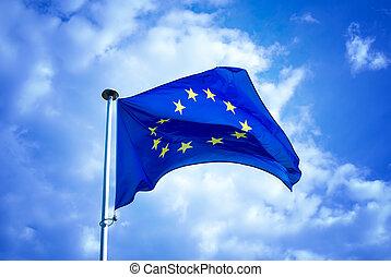lobogó, európai