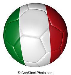 lobogó, focilabda, olasz