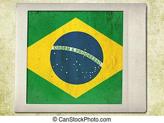 lobogó, közül, brazília