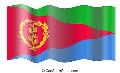 lobogó, közül, eritrea