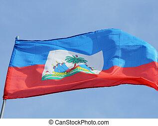 lobogó, közül, haiti