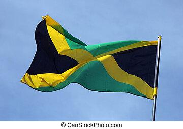 lobogó, közül, jamaica