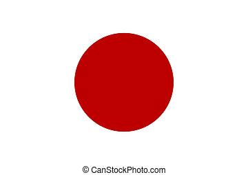 lobogó, közül, japán