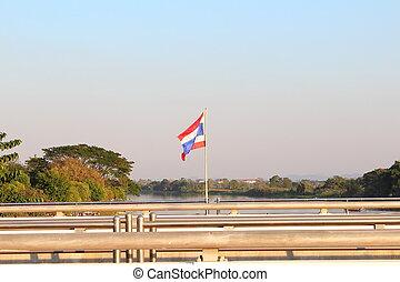 lobogó, közül, thaiföld