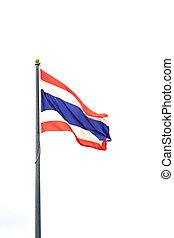 lobogó, közül, thailand.