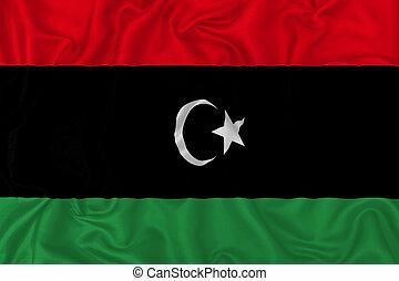 lobogó, ország, líbia