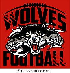 lobos, fútbol