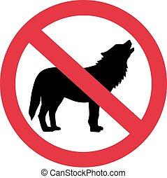 lobos, proibidas