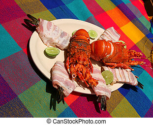 Lobster and Ceviche
