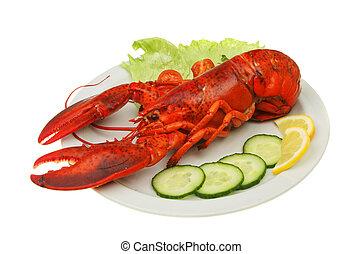 Lobster and garnish
