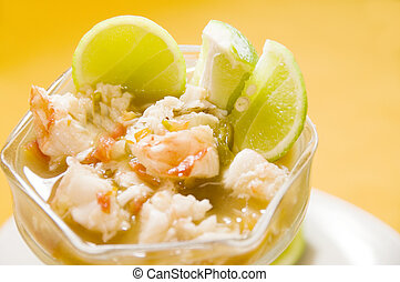 lobster ceviche central american style nicaragua