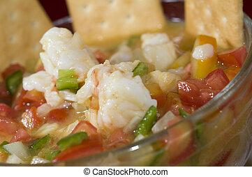 lobster ceviche nicaragua - lobster ceviche cebiche seviche...