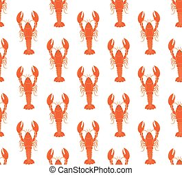 lobster pattern