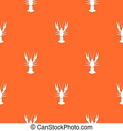 Lobster pattern seamless