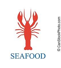 lobster seafood menu background