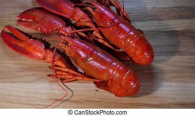 lobster with lemon