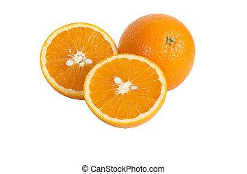 Lobules of orange #2.