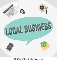 local business illustration