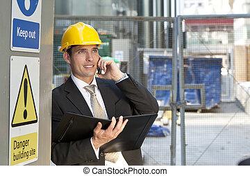 local construção, gerente