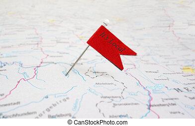 Local pin flag