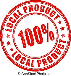 Local product guarantee stamp