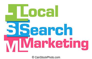 Local Search Marketing Colorful