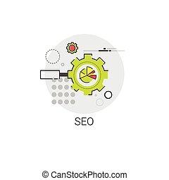 Local Seo Keywording Search Icon