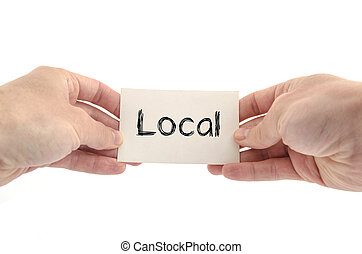 Local text concept