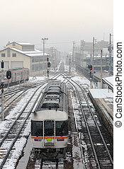 Local train in japan