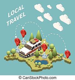 Local Travel Concept