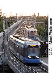 local, trem