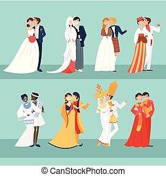 Local weddings couple
