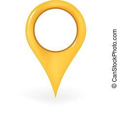 localização, alfinete