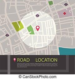 localização, marcador, gps, tema, app