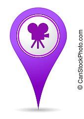 location cinema icon