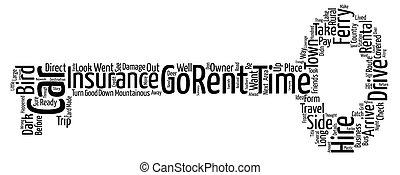 location, concept, voiture, quel, wordcloud, fond, texte,...