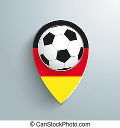 Location Marker Germany Football