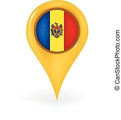 Location Moldova
