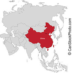 Location of China