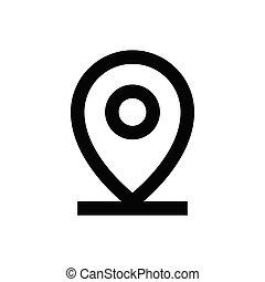 location  pixel perfect icon