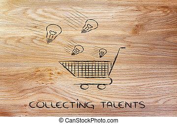 location, talent, choix, idées, talents, scoutisme