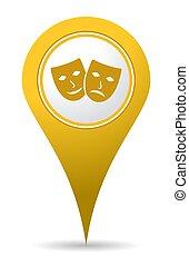 location theater icon
