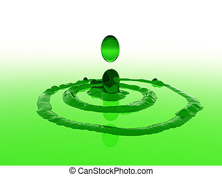 loccsanás, zöld